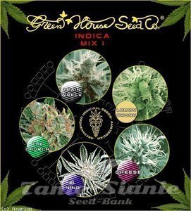 GREEN HOUSE SEEDS - Indica Mix I